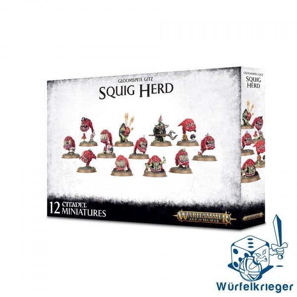 Games Workshop Age of Sigmar Gloomspite Gitz Squig Herd