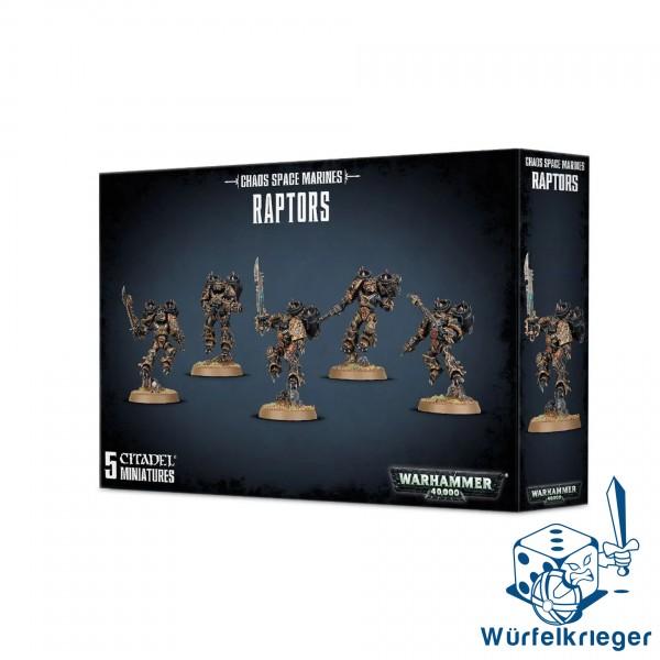 Chaos Space Marines Raptors